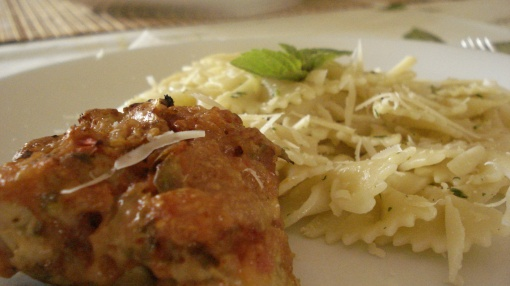 frango parmigiana